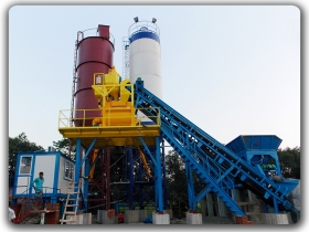 China 50m3/h Concrete Mixing Plant Manufacturer,Supplier